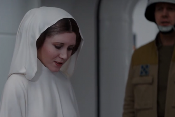 Carrie Fisher, Star Wars, Rogue One, CGI